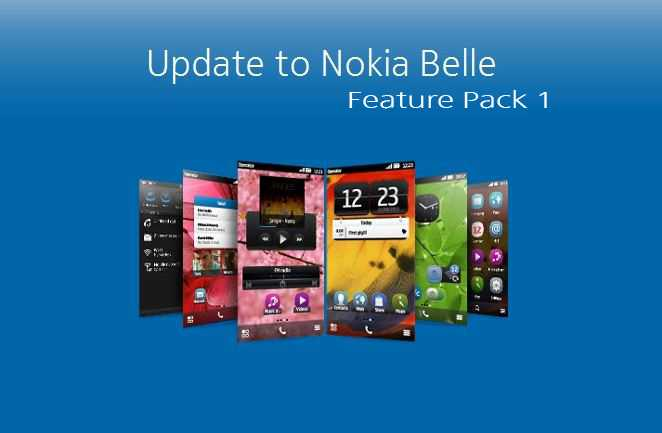 Nokia-Belle-Feature Pack 1-update