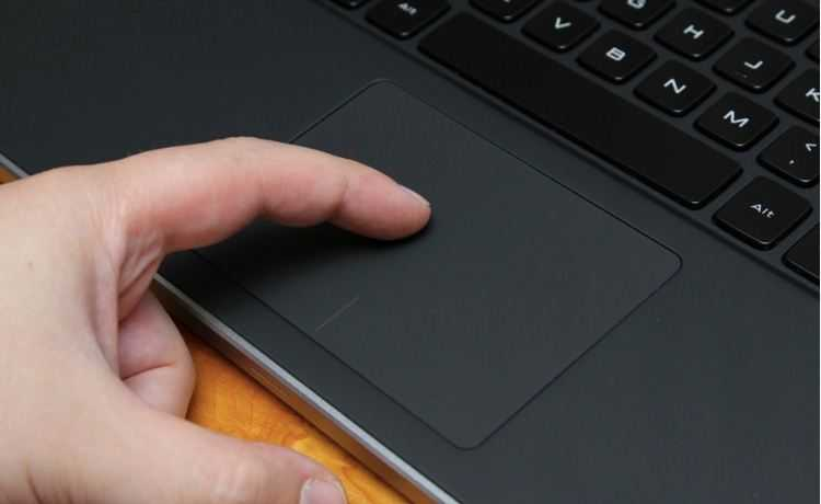 Dell XPS 14 Touch-Pad