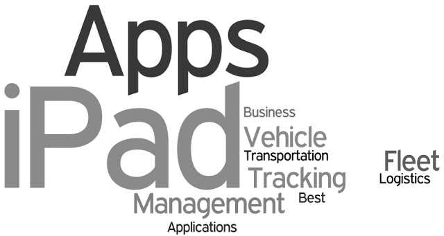 ipad logistic apps