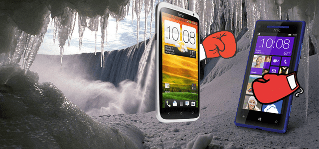 HTC One X Versus HTC 8X