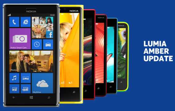 Amber Update for Nokia Lumia 920, 820 and 620
