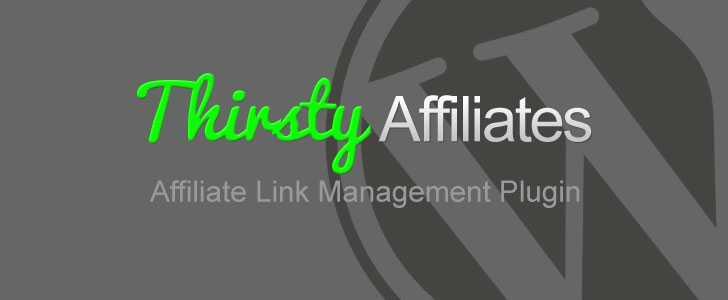ThirstyAffiliates WordPress plugin for affiliate marketing.