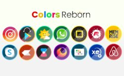 Colors Reborn Android Icon Pack by ARX Designs